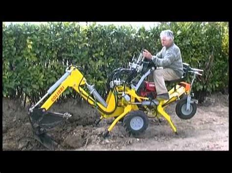 piccoli escavatori da giardino mini micro escavatore trivella by baliani rufino tel 39