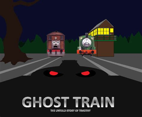 ghost train to the the gallery for gt thomas the tank engine scared