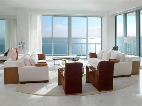 Miami Living Room by Penthouse Miami Living Room