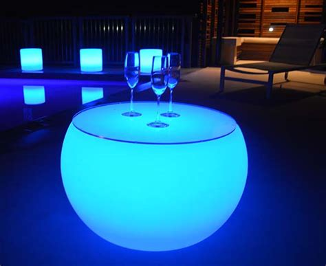 glow in the table glow table