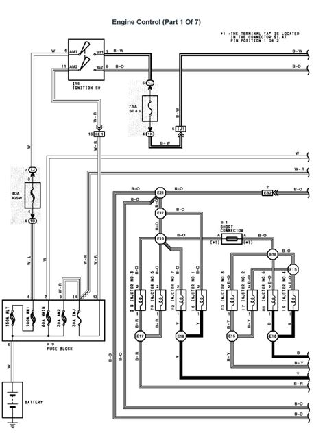 lexus v8 1uzfe wiring diagrams for lexus ls400 1993 model