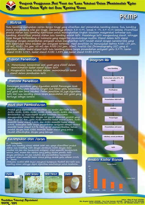 cara membuat poster hasil penelitian contoh proposal pkm program kreativitas mahasiswa share