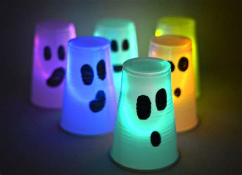 glow stick decorations 10 spooky and children s ideas