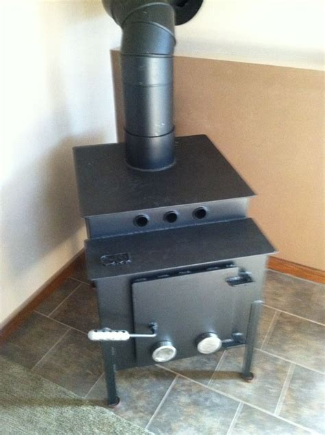 Handmade Wood Stove - custom made wood stove by crossroads concrete custommade