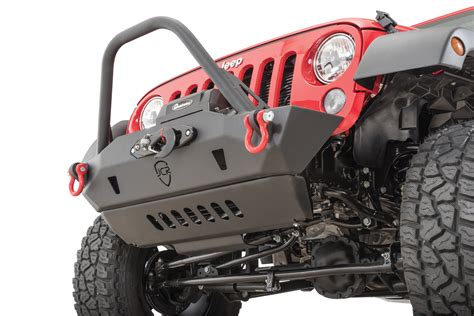 Jeep Jk Front Skid Plate Jcr Offroad Front Lower Bumper Skid Plate For 07 17 Jeep