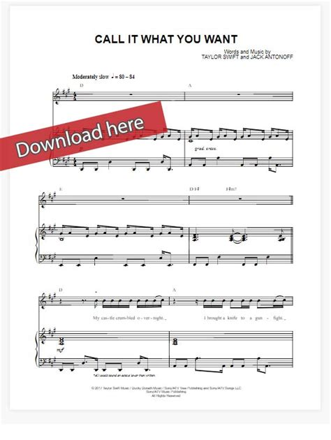 taylor swift call it what you want chords taylor swift call it what you want sheet music piano