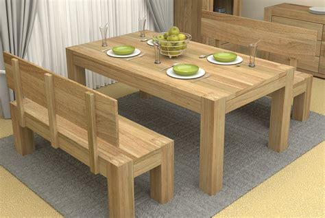 large kitchen tables with benches save your limited space with diy dining table ideas
