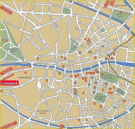printable street map dublin city centre map of dublin dublin maps mapsof net