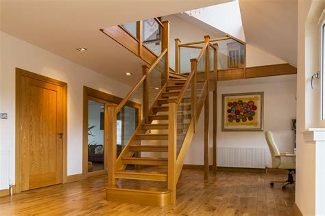 Livingroom Glasgow bespoke staircase design stair manufacture and