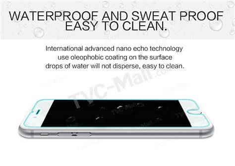 Nillkin Anti Explosion H Tempered Glass Iphone 6 Plus6 55 nillkin amazing h nano anti explosion tempered glass screen guard for iphone 6s plus 6