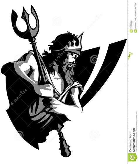 poseidon royalty free vector image vectorstock titan mascot vector logo stock vector illustration of zeus 17659336