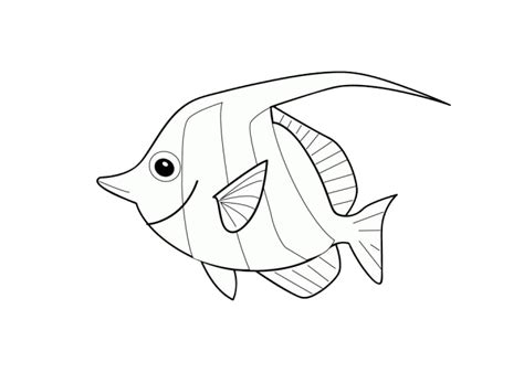 coloring pages of cartoon fish free coloring pages of fish cartoon