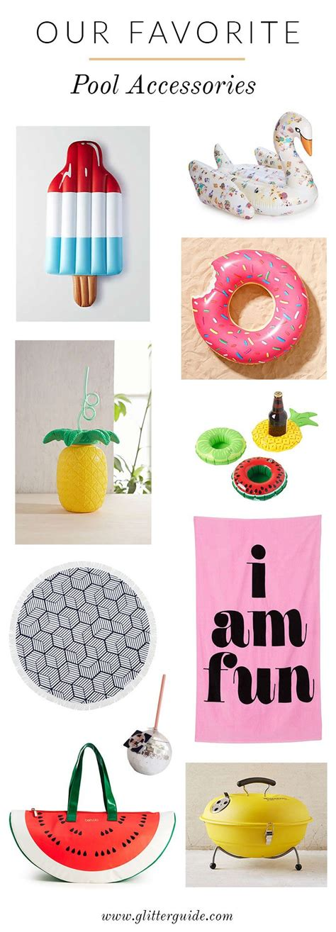 8 Accessories For Summer by 10 Instagram Worthy Pool Accessories We Need This Summer