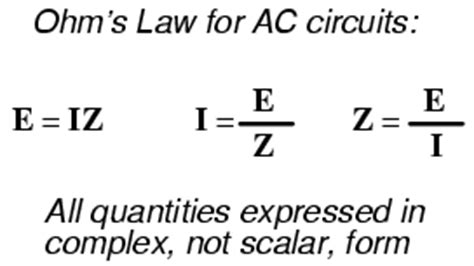 capacitor impedance derivation review of r x z reactance and impedance
