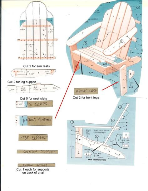 adirondack chair template gumpaste adirondack chair template woodworking projects