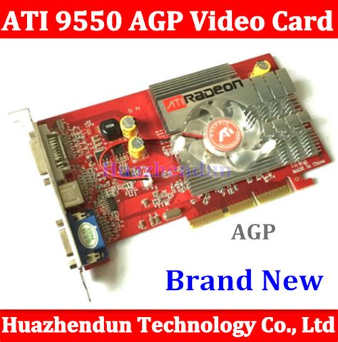 Vga Card Low End buy ati radeon 9550 256m vga s dvi agp card at dealextreme chinaprices net