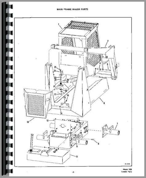 753 bobcat parts diagram bobcat 825 skid steer loader parts manual
