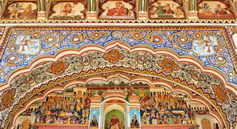 House Wall Murals unravel the clandestine beauty of shekhawati alsisar hotels