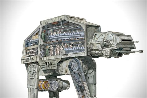 star wars incredible cross sections incredible cross sections of star wars hiconsumption