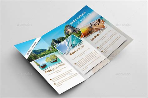 7 great travel brochure examples and design samples brochure