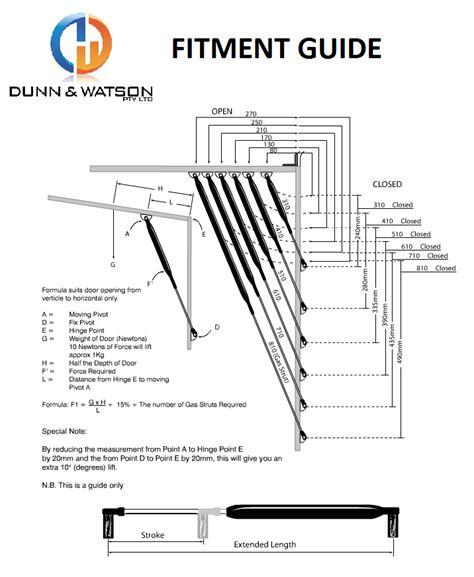 struts layout gas struts stays 700mm 100 1200n bonnet heavy duty