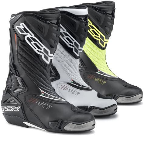 sport bike motorcycle boots tcx s r1 leather motorcycle motorbike ce approved sports