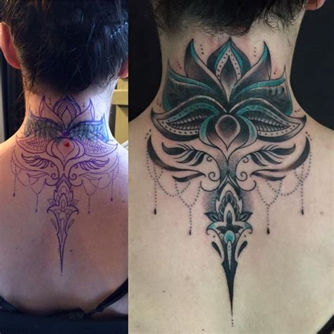 neck cover up tattoos 46 best cover up tats images on ideas