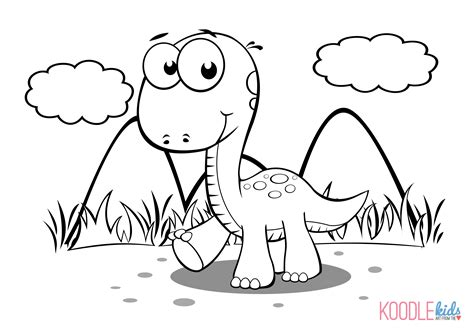 Baby Dinosaur Coloring Page baby dinosaur coloring pages to and print for free