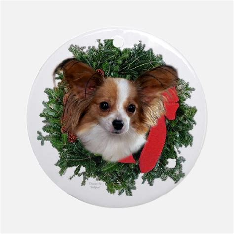 papillon dog ornaments 1000s of papillon dog ornament