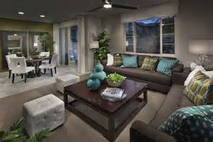 model homes decorating pictures modern grey nuance model home decorating with cream table
