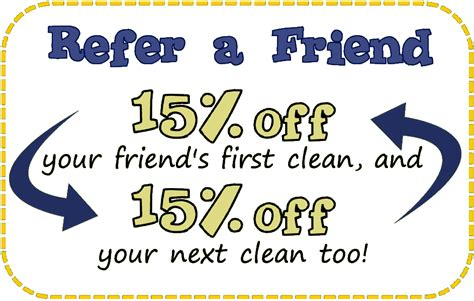 refer a friend coupon template special offers