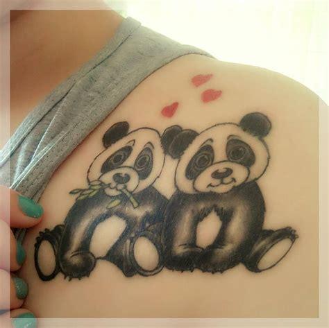 panda tattoo ideas base for pandacorn tattoos ideas