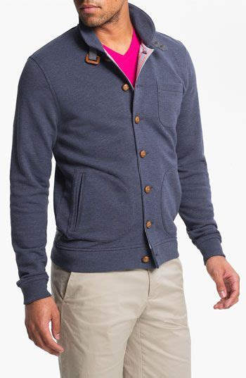 Ted Baker Ted Guys Ite1117 ted baker folded button cardigan fashion for