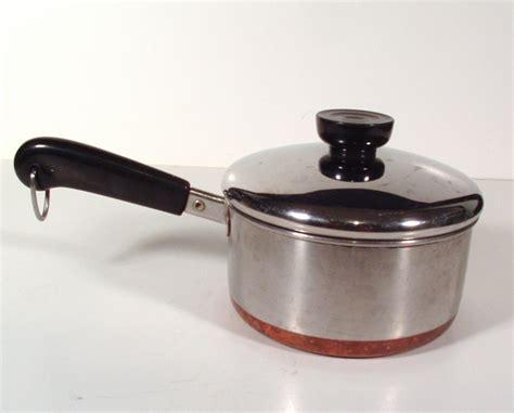 revere ware saucepan 1qt covered pans