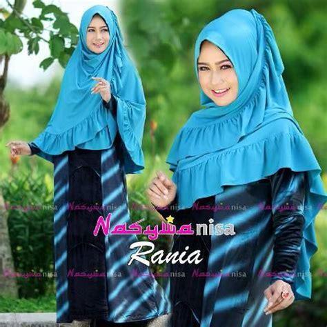 Dress Bludru Import Allsize rania birtos baju muslim gamis modern