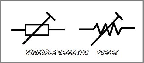 adjustable resistor symbol variable resistor circuit symbol www pixshark images galleries with a bite