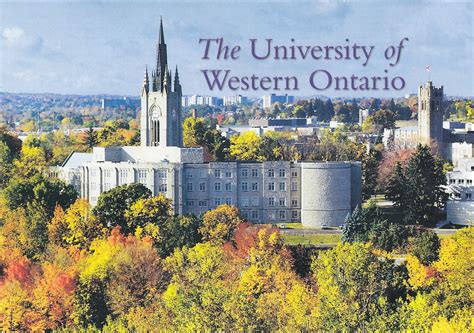 Mba Programs In Ontario Cost by Scholarships Of Western Ontario Study In