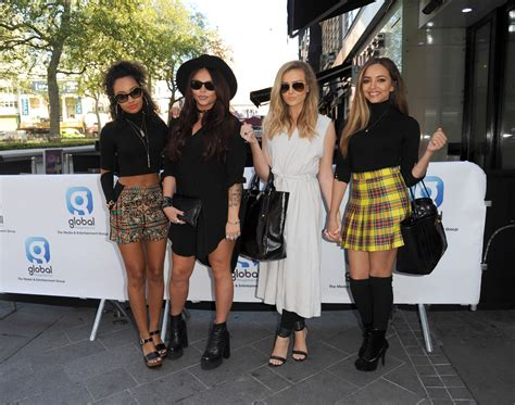 mix styles little mix s london street style see pics of the singers