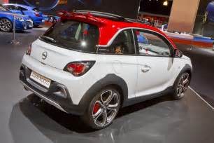 Opel Adam Opel Adam Rocks S Debuts At The Autorai Show In Amsterdam