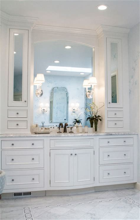 Bow Front Bathroom Vanity by Bow Front Vanity Sink Traditional Bathroom St Louis