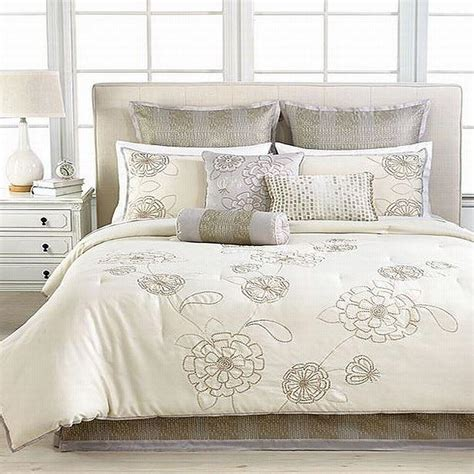 martha stewart comforter sets martha stewart calendula 9 piece queen comforter bed in a