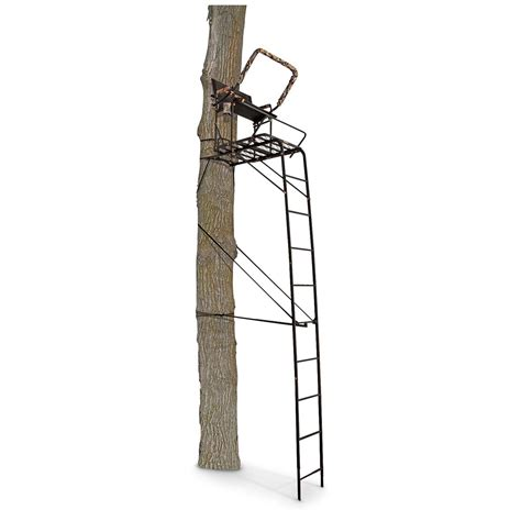 tree stands muddy hawg 16 ladder tree stand 666294 ladder