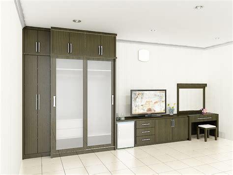 lemari pakaian minimalis dian interior design