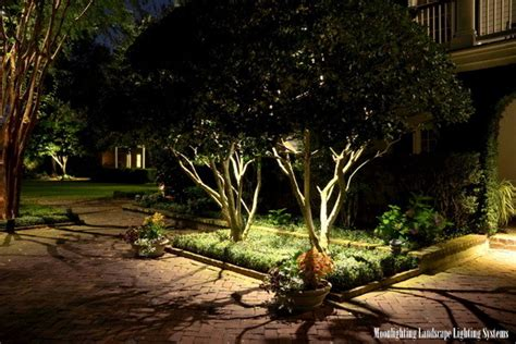 moonlighting landscape lighting the governor house traditional