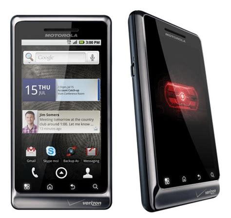 verizon android verizon motorola droid 2 android smartphone itech news net