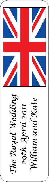 printable union jack bookmarks craft and activities for all ages the royal wedding