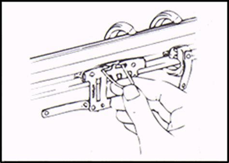 how to restring a curtain rod restringing traverse rods
