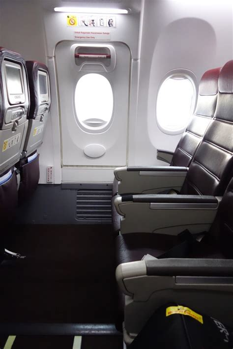 do exit row seats recline on american airlines review malaysia airlines economy class b737 800 kul to