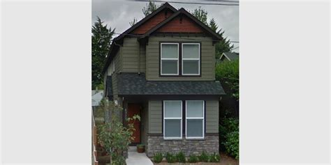 Lovely Narrow Lot House Plans #1: Narrow-lot-house-plan-street-photo-10133-single-web.jpg