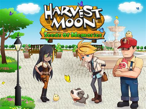 harvest moon friends of mineral town apk free harvest moon seeds of memories